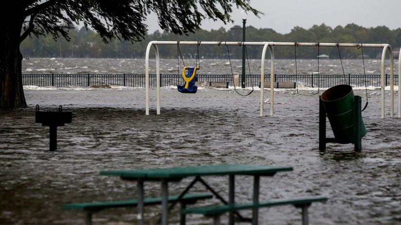 El huracán Florence ya se cobró cinco víctimas