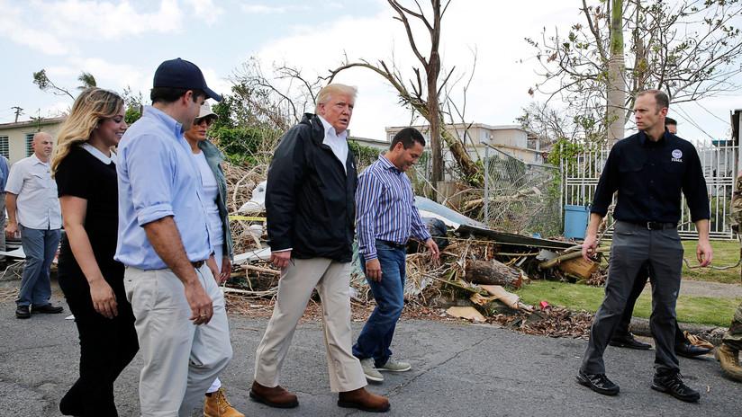 """Puerto Rico a Trump: """"Las víctimas de huracanes no merecen que sea cuestionado su dolor"""""""