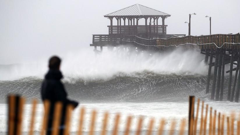 VIDEOS: Florence comienza a inundar parte de las Carolinas
