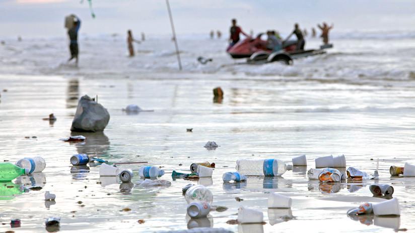 Los microplásticos de los océanos terminan en nuestros alimentos
