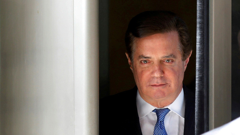 Paul Manafort se declara culpable de dos cargos criminales ante la corte federal de Washington