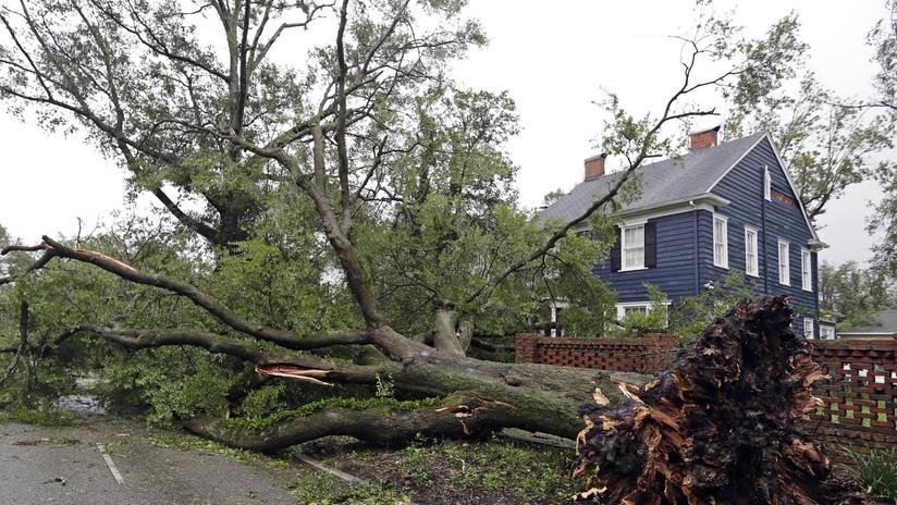 """El huracán Florence está """"provocando estragos"""" en Carolina del Norte"""