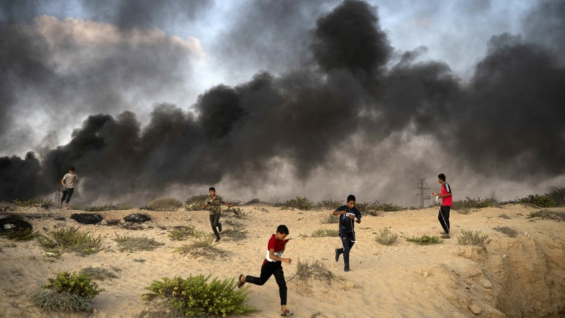 Dos palestinos muertos y 30 heridos en enfrentamientos en la Franja de Gaza