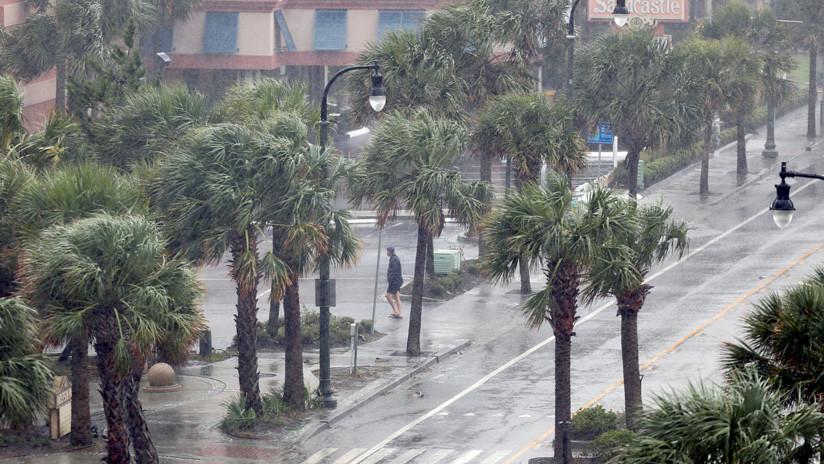 Revelan cuán diferente sería la fuerza de Florence sin el impacto humano sobre el huracán