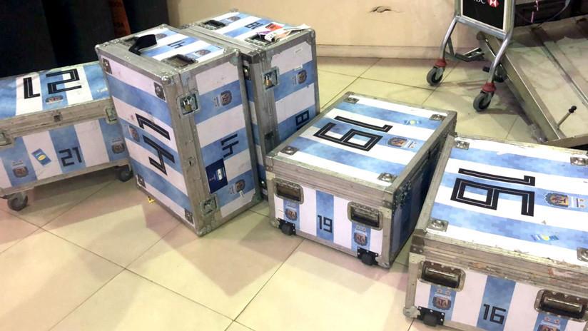 La aduana argentina confiscó equipaje de la selección de fútbol tras su gira por EE.UU.