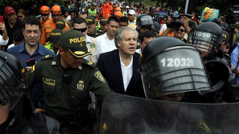 """Almagro afirma que no se debe descartar una """"intervención militar"""" contra Venezuela"""