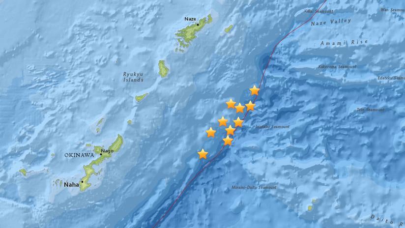 Al menos 10 sismos se registran cerca de la costa de Japón en menos de 24 horas
