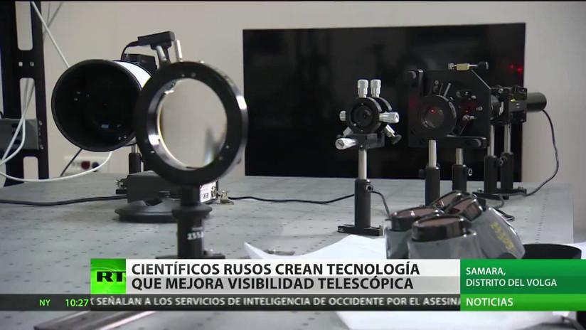 Científicos rusos desarrollan una tecnología que mejora la visibilidad telescópica