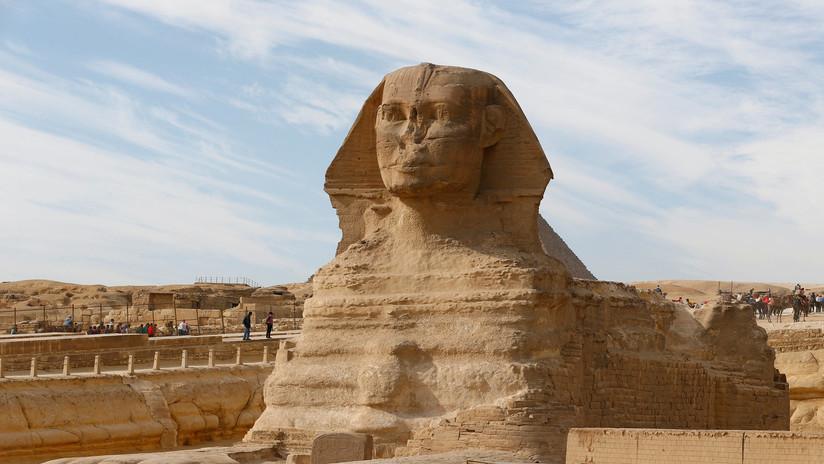 FOTOS: Descubren una nueva esfinge en Egipto