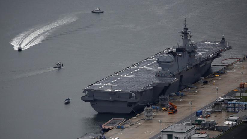Un submarino japonés lleva a cabo sus primeros ejercicios en el mar de la China Meridional