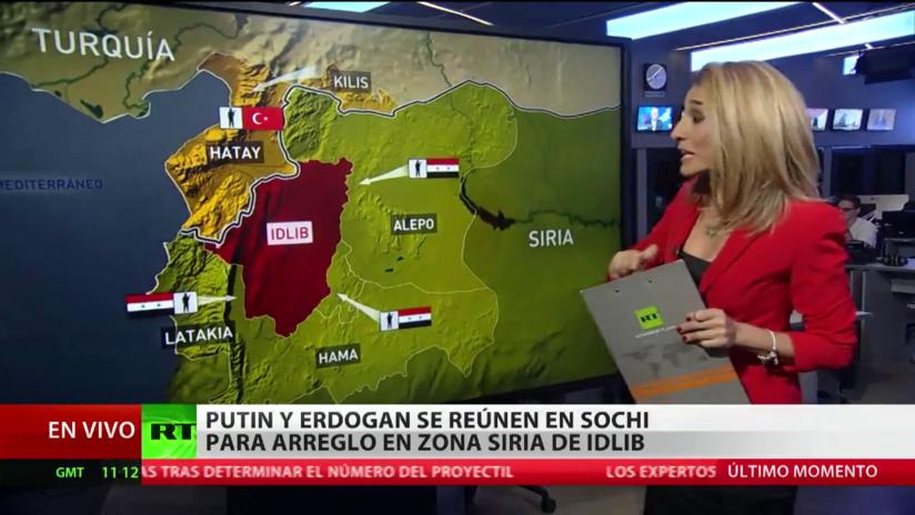 Putin y Erdogan se reúnen en Sochi para hablar de la tensión en torno a la zona siria de Idlib