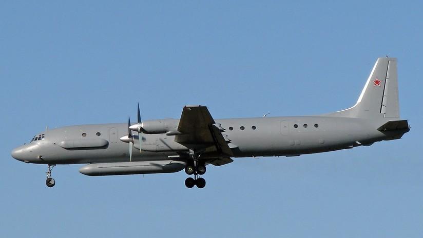 Un avión ruso con 15 militares desaparece de los radares tras un ataque de cazas israelíes a Siria