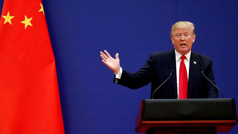 """Trump acusa a China de tratar de """"impactar"""" en las elecciones de EE.UU. con guerra comercial"""