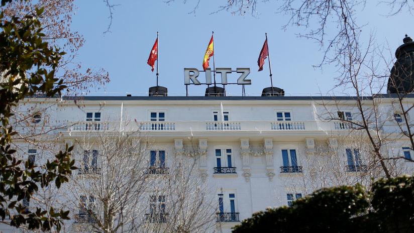 Varios heridos en un derrumbe en el Hotel Ritz de Madrid