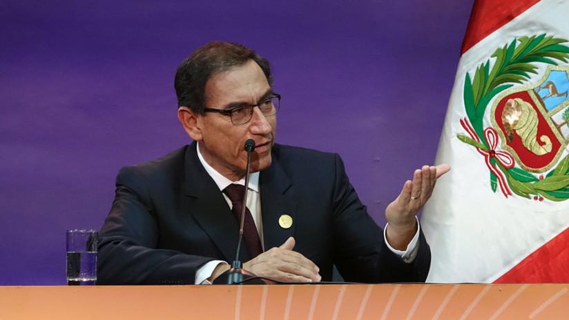 Estas son las cuatro reformas constitucionales propuestas por el presidente de Perú