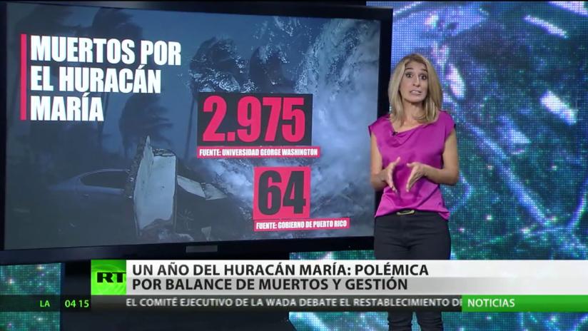 Un año del huracán María en Puerto Rico: Polémica por el balance de muertos y la gestión
