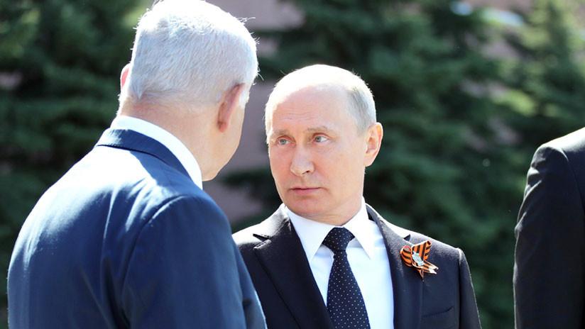 Netanyahu envía a Moscú al comandante de su Fuerza Aérea tras el incidente del avión Il-20 en Siria