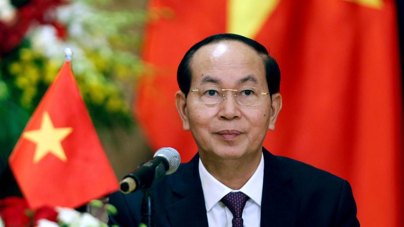Muere el presidente de Vietnam