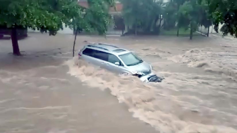 Lluvias torrenciales azotan seis estados de México y dejan miles de damnificados