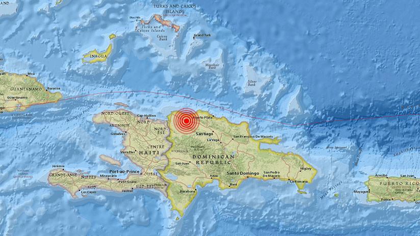 Un sismo de 5,2 sacude la República Dominicana