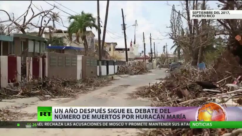 Puerto Rico: Un año después del huracán María, sigue el debate sobre el número de muertos