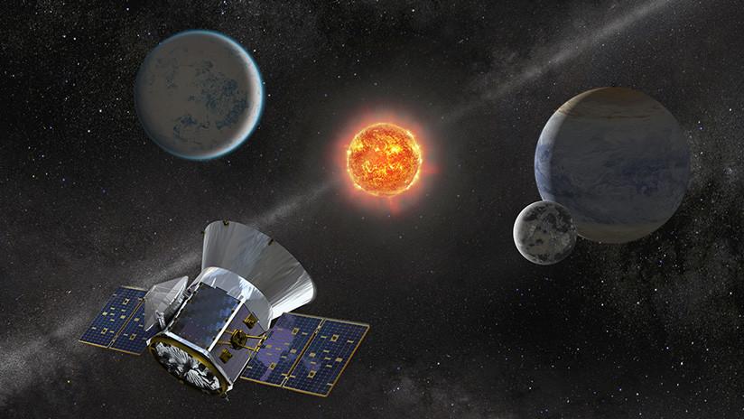 Resultado de imagen para La misión TESS registró el primer sector del cielo austral con sus cuatro cámaras