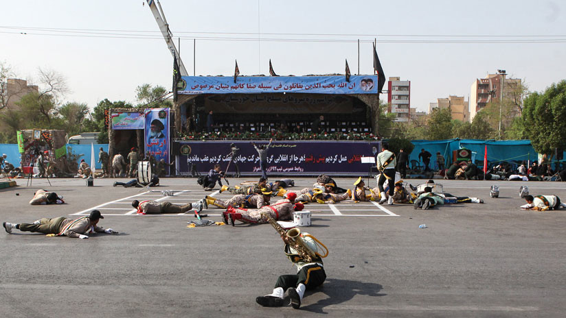 Irán: Los atacantes del desfile militar estaban financiados por Arabia Saudita y Emiratos Árabes