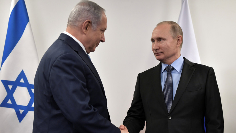 Putin mantiene una conversación telefónica con Netanyahu tras el derribo del Il-20 ruso