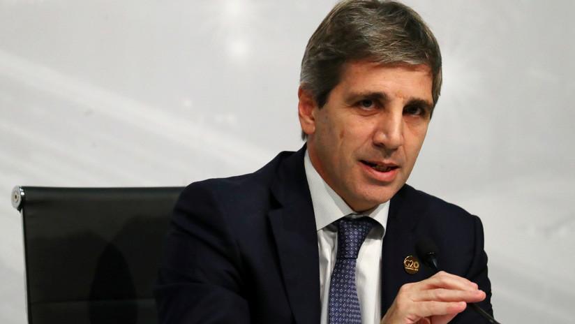 Argentina: Renuncia el presidente del Banco Central, Luis Caputo