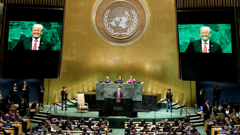 """""""No esperaba esa reacción"""": Trump provoca la risa apenas empezar su discurso en la ONU (VIDEO)"""