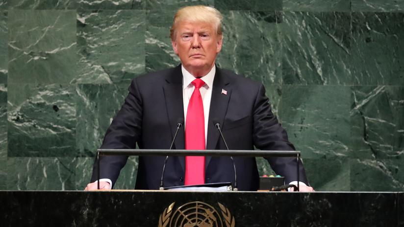 """El """"régimen corrupto"""" de Irán y el comercio """"injusto"""" de China: Sobre qué habló Trump ante la ONU"""