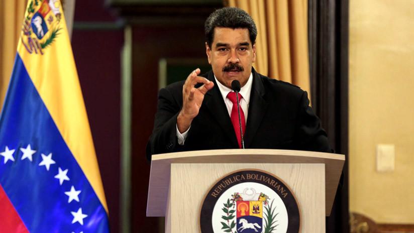 """Maduro repudia las sanciones """"ilegales e inútiles"""" impuestas por EE.UU."""