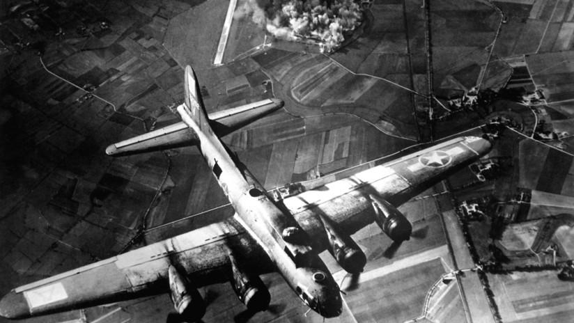 Los bombardeos contra la Alemania nazi afectaron la frontera con el espacio