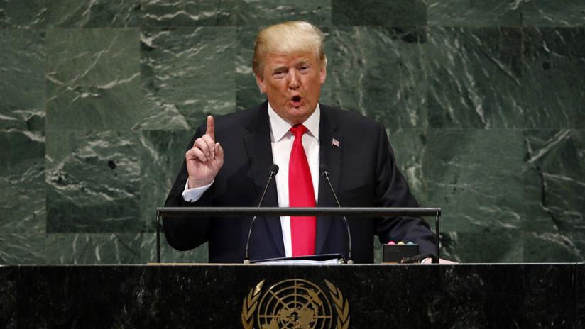 """Trump sobre Venezuela: """"Todas las opciones están sobre la mesa"""""""