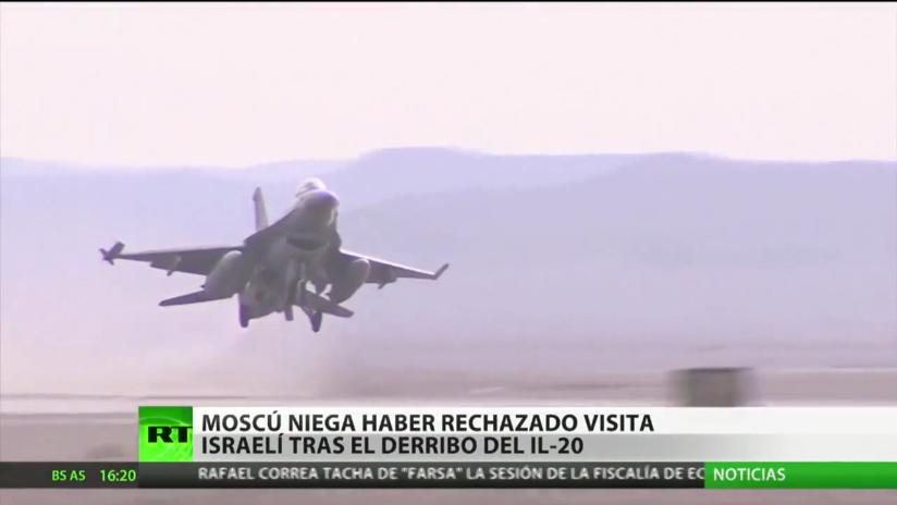 Rusia niega que rechazara una visita de Israel tras el derribo del Il-20
