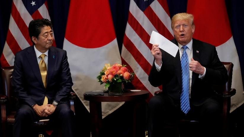 """""""Una obra de arte"""": Trump elogia una carta de Kim y revela cómo la evaluó el primer ministro japonés"""