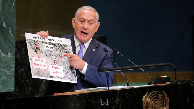 "Netanyahu: Irán tiene un ""almacén nuclear secreto en Teherán"""