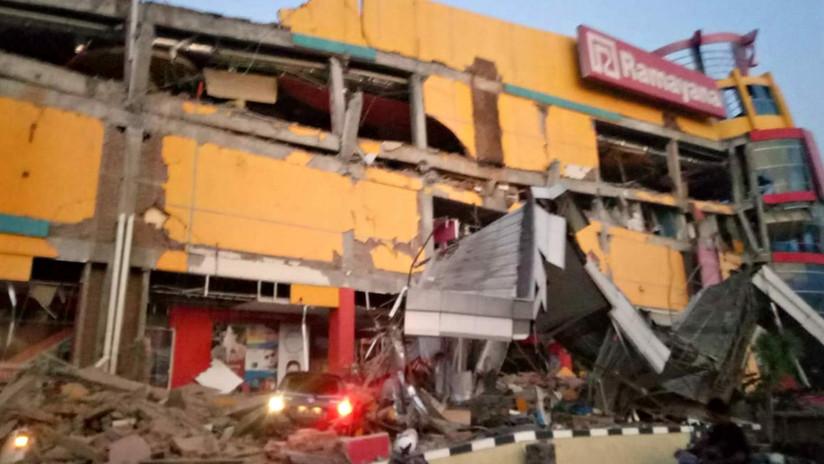 Levantan la alerta de tsunami tras registrarse un sismo de magnitud 7,5 en una isla de Indonesia