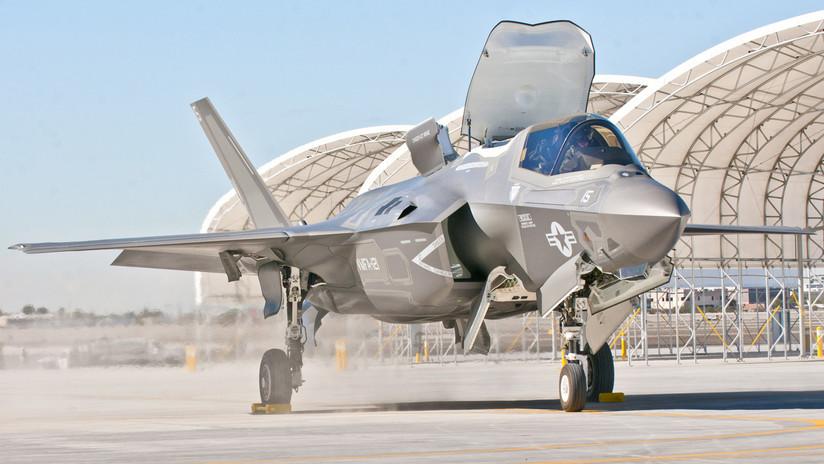 FOTO: Se registra el primer estrellamiento del nuevo cazabombardero estadounidense F-35B