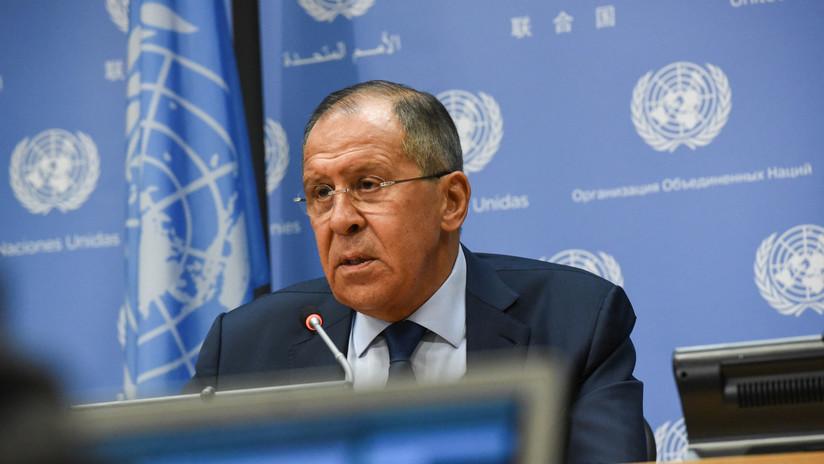 De Siria a Venezuela: Los temas más importantes de la rueda de prensa de Lavrov en la ONU