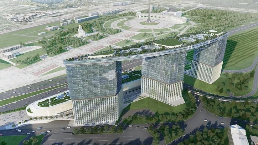 FOTOS: Un nuevo proyecto arquitectónico en Moscú construirá tres grandes torres bajo el mismo tejado