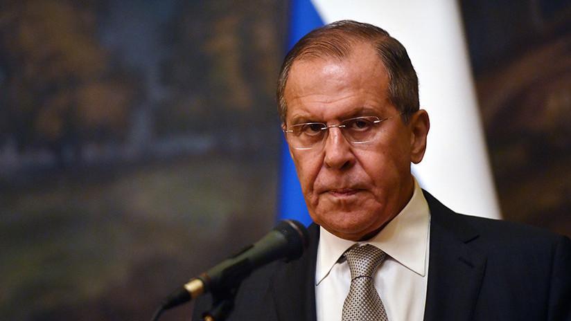 """Lavrov: """"Oposición venezolana no tiene estímulos para dialogar por recibir apoyo del extranjero"""""""
