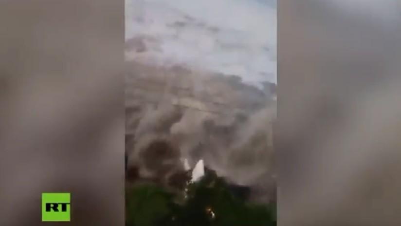 VIDEO: Un tsunami azota Indonesia tras un fuerte terremoto en la isla de Célebes