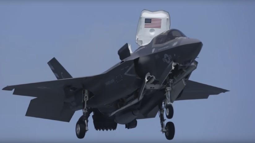 VIDEO: Armada de EE.UU. publica imágenes de la primera misión de combate de un avión F-35B