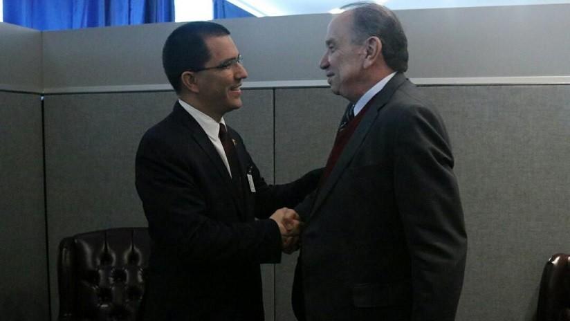 Cancilleres de Venezuela y Brasil se reúnen para hablar de seguridad, salud y energía