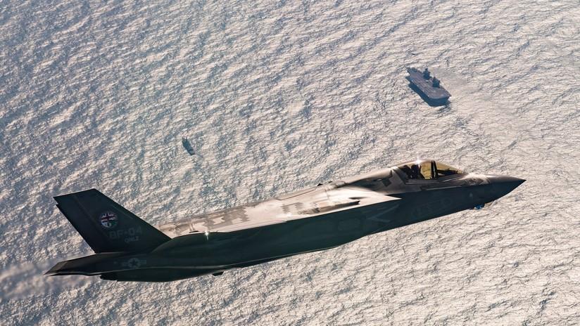 VIDEO: Cazas F-35B aterrizan por primera vez en el portaviones británico HMS Queen Elizabeth