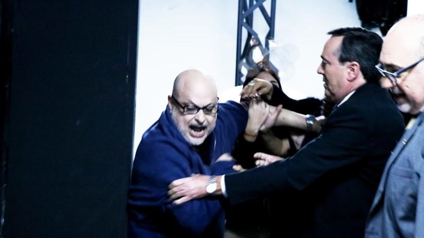 """""""Entrá, delincuente"""": Dos senadores paraguayos desatan una acalorada pelea en un programa televisivo"""