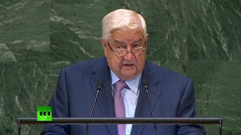 Siria pide en ONU fuerzas internacionales dejen país y vuelvan los refugiados