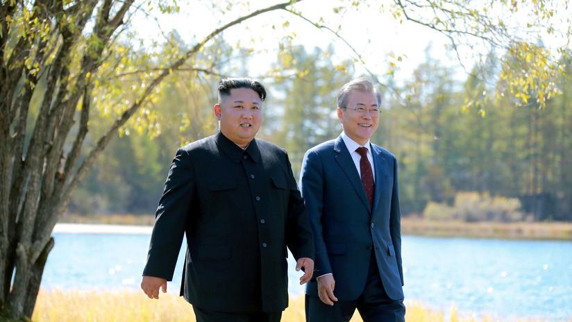 FOTOS: Kim Jong-un le regala dos perros de caza al presidente de Corea del Sur