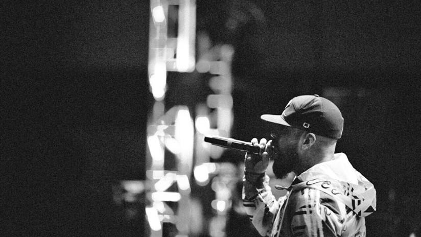 Guanaco en el escenario. / Guanaco MC